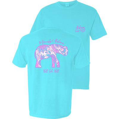 Alabama Spring Boho Comfort Colors Short Sleeve Tee