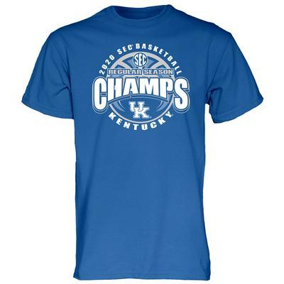 Kentucky 2020 SEC Basketball Champion Tee Shirt