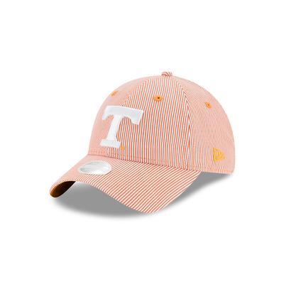 Tennessee New Era Women's Preppy Stripe Adjustable Cap