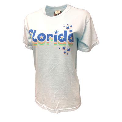 Florida Retro Cutout Stars SS Comfort Color Tee