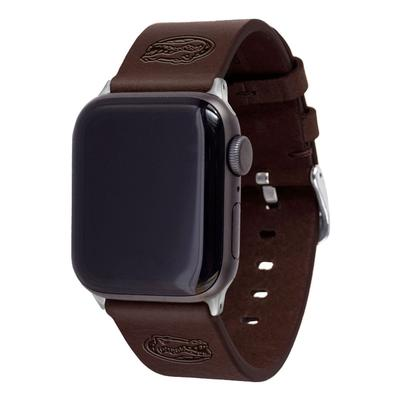 Florida Dark Brown Apple Watch Band 42/44 MM M/L