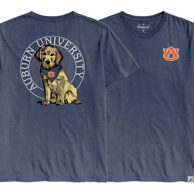 Auburn League Tumble Wash Rally Dog Short Sleeve Tee