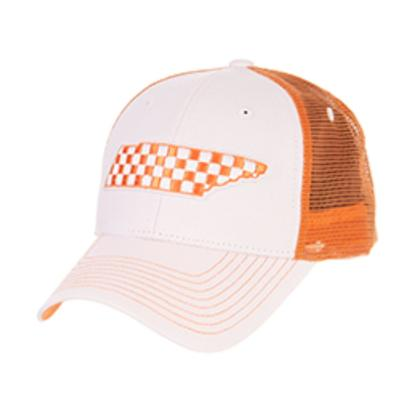 Tennessee Zephyr Men's Checker State Mesh Hat