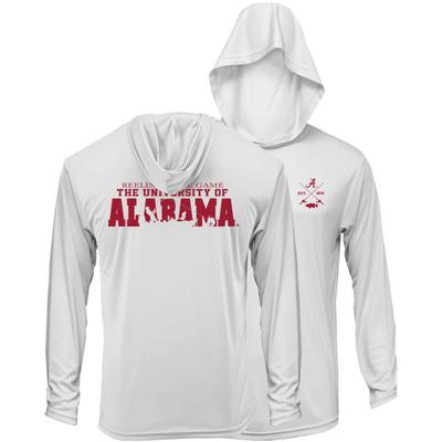 Alabama Reelin' In The Game Lightweight Hoodie Tee