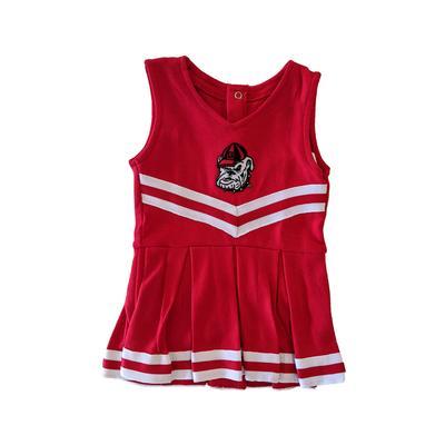 Georgia Retro Dawg Infant Cheerleader Set