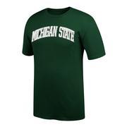 Michigan State Women's Arch Short Sleeve Tee Shirt