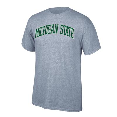 Michigan State Women's Arch Short Sleeve Tee Shirt OXFORD
