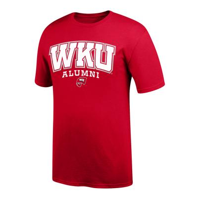 Western Kentucky Women's Arch Alumni Short Sleeve Tee Shirt