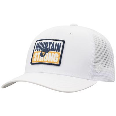 West Virginia Men's Headline Sublimated Patch Trucker Hat