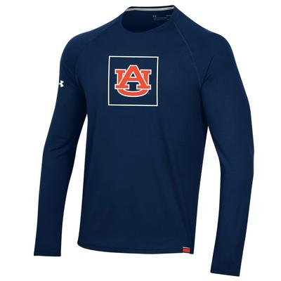 Auburn Under Armour Sideline Long Sleeve Training Tee