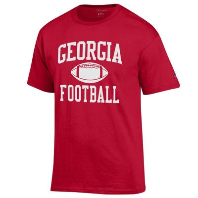 Georgia Champion Men's Basic Football Tee