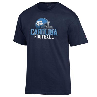UNC Champion Men's Football with Helmet Tee