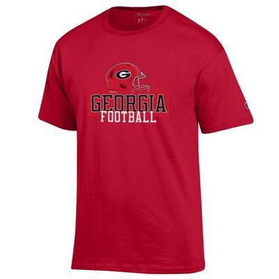 Georgia Champion Men's Georgia Football with Helmet