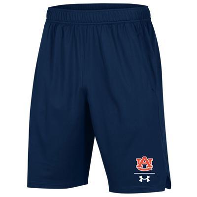 Auburn Under Armour Locker 9' Shorts NAVY