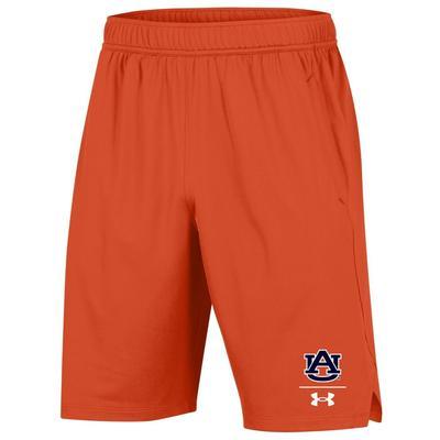 Auburn Under Armour Locker 9' Shorts ORANGE