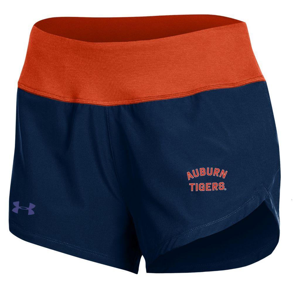 Auburn Under Armour Hybrid Shorts