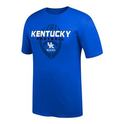 Kentucky Vertical Football Short Sleeve Tee