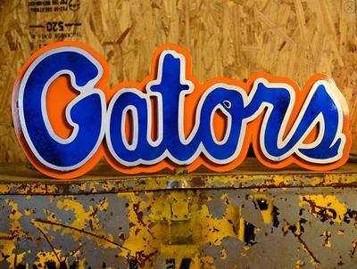 Florida Hex Head 3D Metal Script Sign