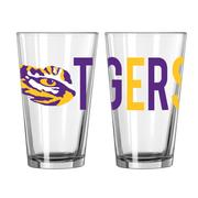 Lsu 16oz Overtime Pint Glass