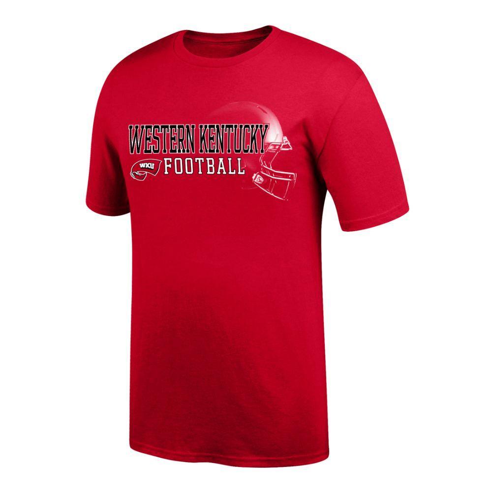 WKU | Western Kentucky Football Helmet Short Sleeve Tee ...