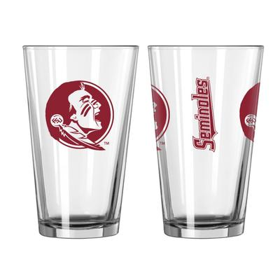 FSU 16oz Gameday Pint Glass