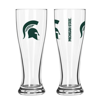 Michigan State 16oz Gameday Pilsner Glass