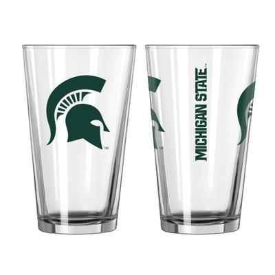 Michigan State 16oz Gameday Pint Glass