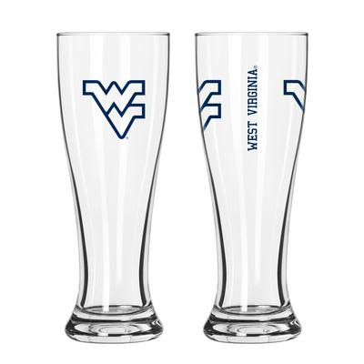 West Virginia 16oz Gameday Pilsner Glass