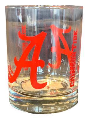 Alabama 14oz Gameday Rocks Glass