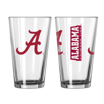 Alabama 16oz Gameday Pint Glass