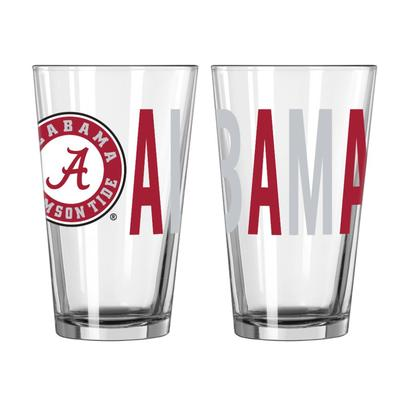 Alabama 16oz Overtime Pint Glass