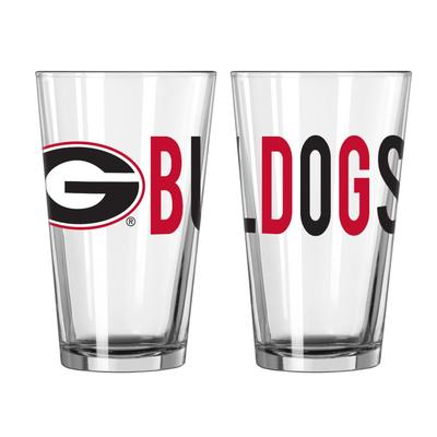 Georgia 16oz Overtime Pint Glass