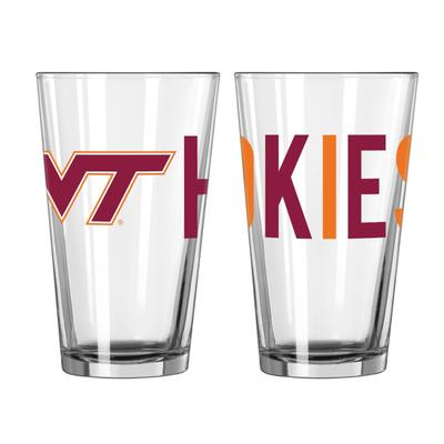 Virginia Tech 16oz Overtime Pint Glass