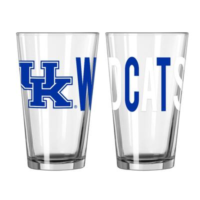Kentucky 16oz Overtime Pint Glass