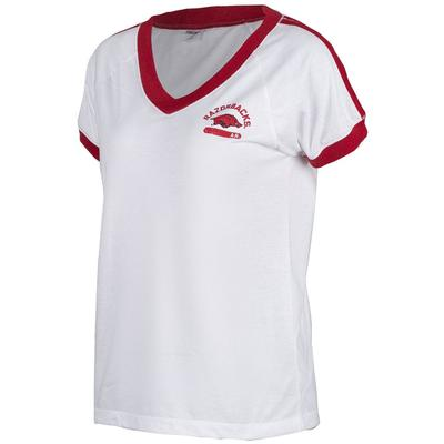 Arkansas Zoozatz Retro Athletic Tee