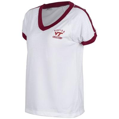 Virginia Tech Zoozatz Retro Athletic Tee
