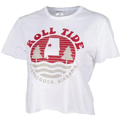 Alabama Zoozatz Hometown Crop Top
