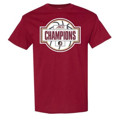 Florida State 2020 Regular Season Basketball Champions Tee Shirt