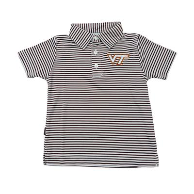 Virginia Tech Carson Toddler Striped Polo