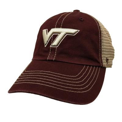 Virginia Tech '47 Brand Youth Trawler Clean Up Hat