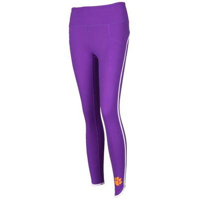 Clemson Zoozatz Scallop Leggings