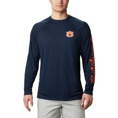 Auburn Columbia Terminal Tackle Tee