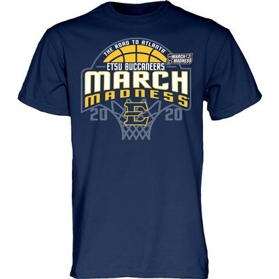 ETSU 2020 March Madness Bound Short Sleeve Tee