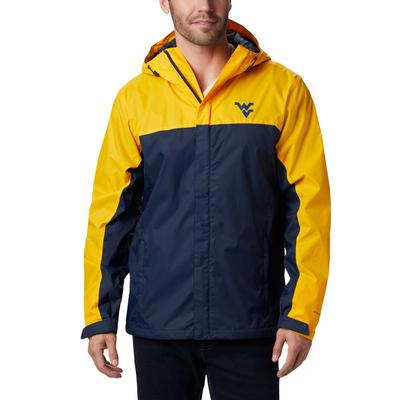 West Virginia Columbia Glennaker Storm Jacket