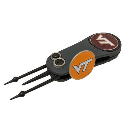 Virginia Tech Switchblade Repair Tool W/ Ball Markers