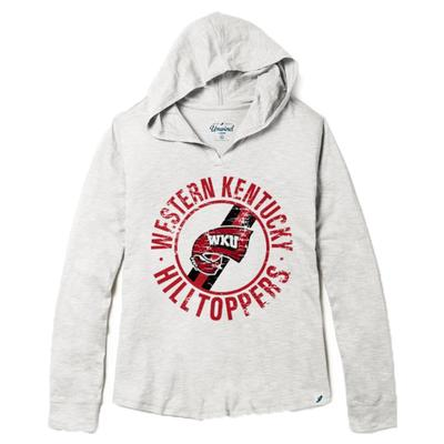 Western Kentucky League Women's Slub Hoodie