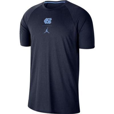 UNC Nike Men's J23 Alpha Short Sleeve Top