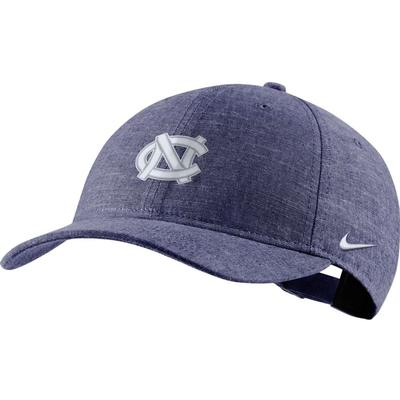 UNC Nike L91 Chambray Adjustable Hat