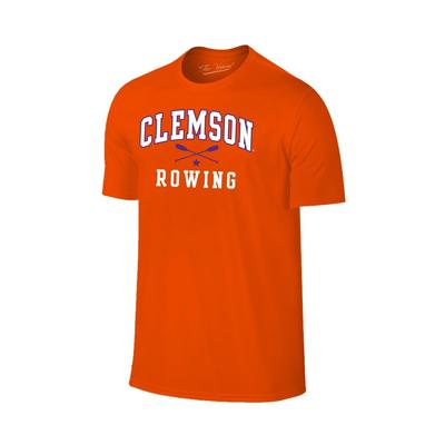 Clemson Rowing Basic Short Sleeve T-Shirt ORANGE