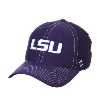 LSU Zephyr Aperture Fitted Hat